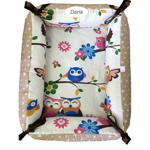 Reductor Personalizat Bebe Nest Deseda Bufnite maro