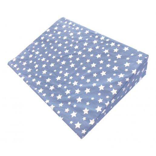 Perna-plan-inclinat-DeLuxe-stelute-pe-albastru