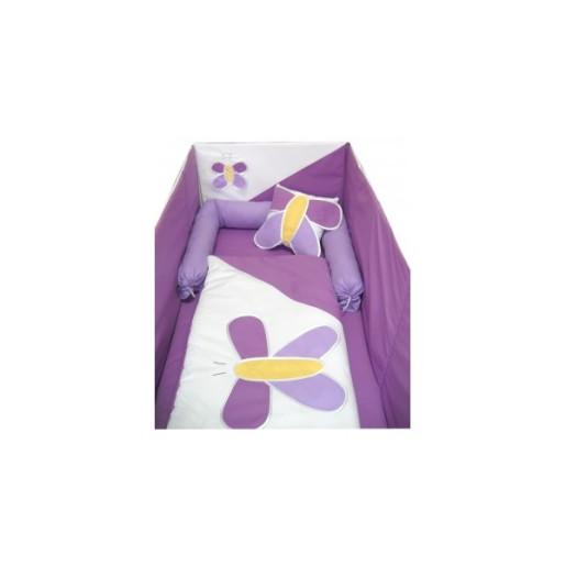 aparatori-laterale-fluturas-120x60x60cm alb violet