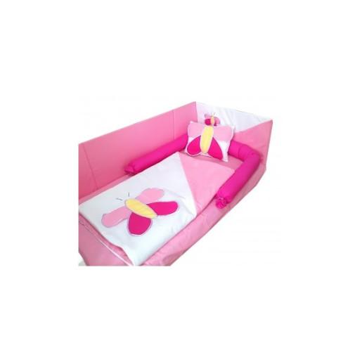 aparatori-laterale-fluturas-120x60x60cm roz alb