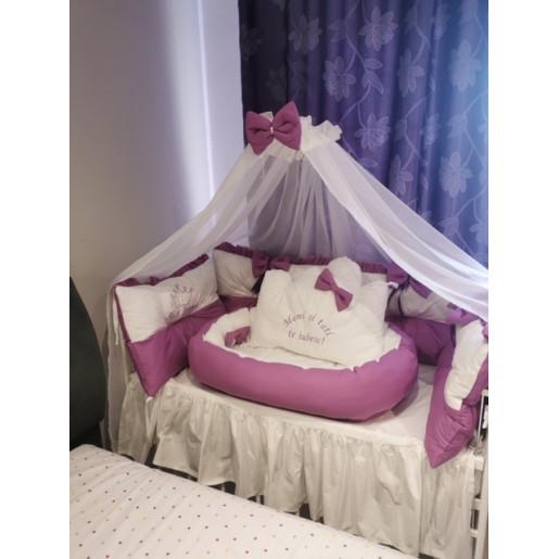 alb cu violet