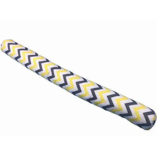 Perna cilindru 1,6m Deseda Zig Zag galben-negru