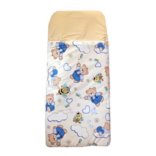 Sac de dormit buzunar de iarna 1-3 ani Ursuleti crem
