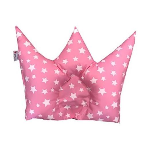 Perna impotriva plagiocefaliei Deseda Coronita Stelute pe roz