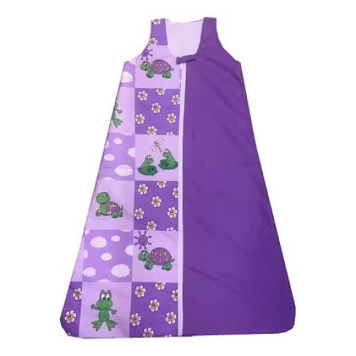 Sac de dormit pentru primavara-toamna m70 cm Deseda Violet
