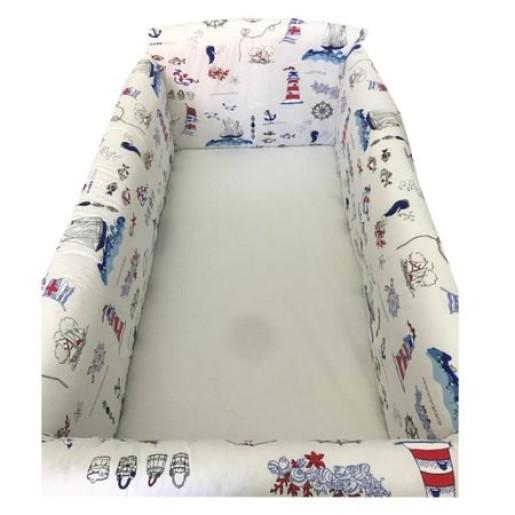 Aparatori laterale protectii pat 120x60 cm Deseda Maxi Farul