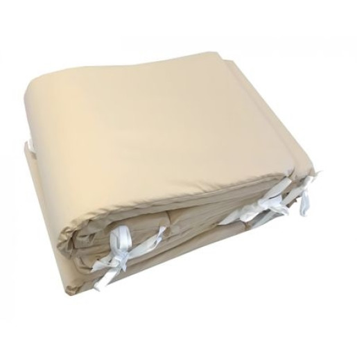 Aparatori laterale protectii laterale pat 120x60 cm h40cm Deseda Bej