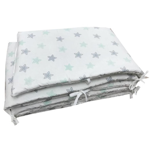 Aparatori laterale protectii laterale pat pufoase h35cm Somn lin