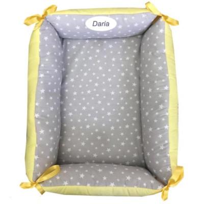 Reductor Personalizat Bebe Nest Deseda Galben