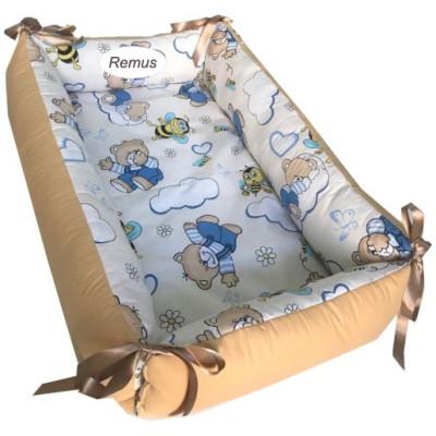 Reductor Personalizat Bebe Nest Ursuleti cu albine pe bej