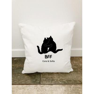 Husa perna Personalizata decorativa BFF