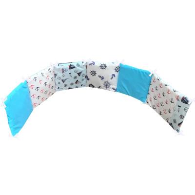 Aparatoare protectii laterale pat pufoase 120x60 cm h28cm Deseda Mix Ancore
