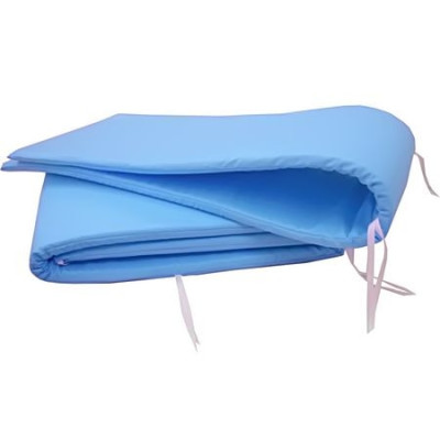 Aparatori laterale protectii laterale pat 120x60 cm h30cm Deseda Albastru