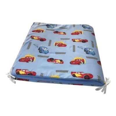 Aparatori laterale protectii laterale pat 120x60 cm h60cm cu burete Deseda Cars