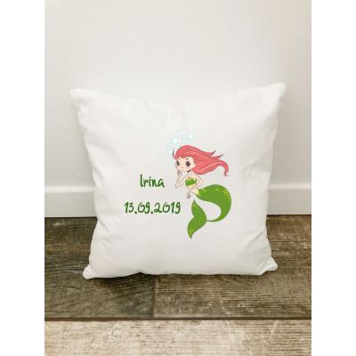 Husa perna Personalizata decorativa Sirena Irina