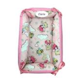Reductor Personalizat Bebe Nest Deseda Ursi cu albine pe roz