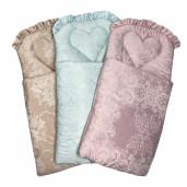 Sac de dormit pentru cărucior și botez, din Jackard colorat