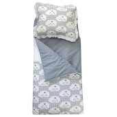 Sac de dormit buzunar Personalizat, de iarna 1-3 ani Deseda Norisori gri
