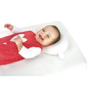 Set antiregurgitare si pozitionare cu plan inclinat pentru bebelusi Deseda Floricele