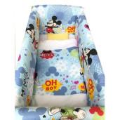 Aparatori laterale protectii pat 120x60 cm Deseda Maxi Mickey Mouse