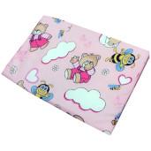 ursi cu albine pe roz